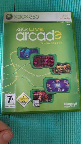 xBox Live Arcade : compilation disk