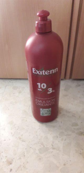 peluqueria agua oxigena de 10volumenes
