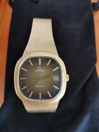 reloj oro omega de ville automático