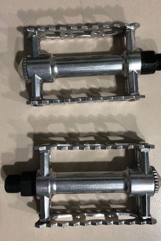 Pedal para bicicleta retro de aluminio