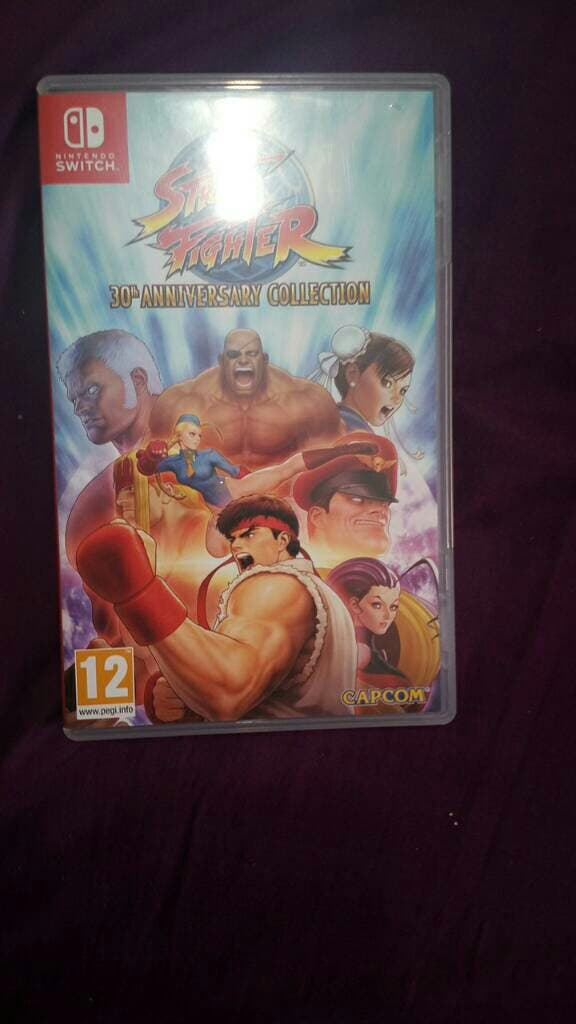 street Fighter 30th anniversary collection Switch