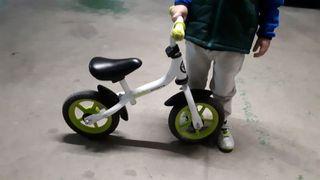 Bicicleta niños sin pedales