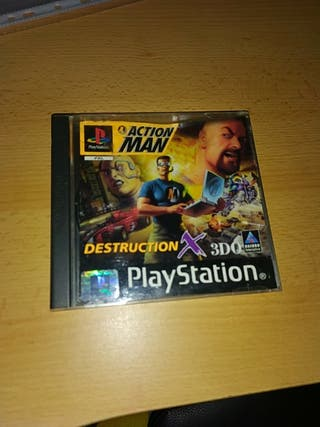 action man psx