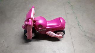 Moto para niña