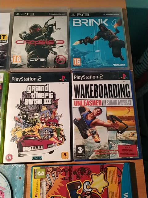 juegos diferentes consolas psx, ps2,ps3, wii u,xb