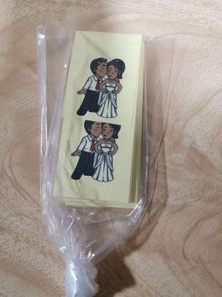 Pegatinas para boda