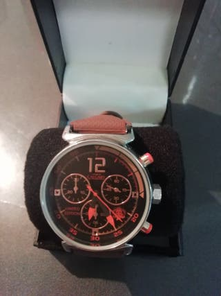 "Reloj unisex marrón firma ""CALGARY"""