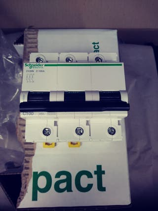 Magnetotermico 100A 3P