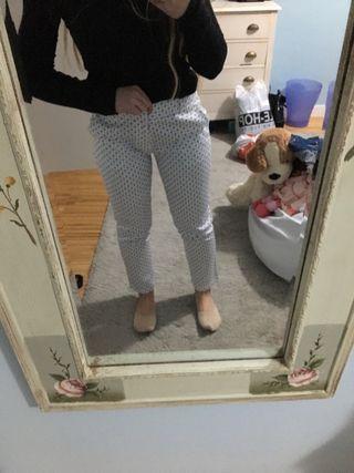 Pantalón tela Mujer/Chica