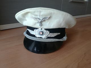 gorra de verano piloto luftwaffe. WWII