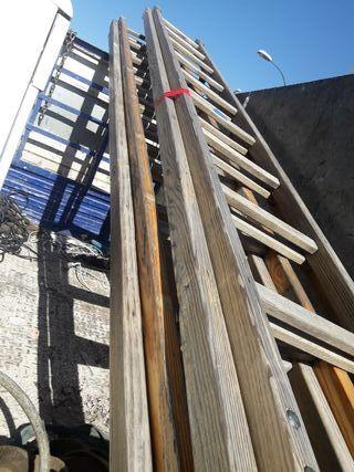 escalera solo de un tramo 4 metros