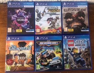 Juegos PlayStation o PS4