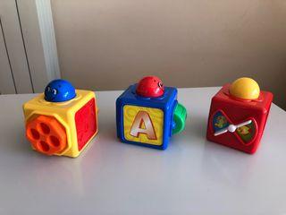 Juguete Cubos