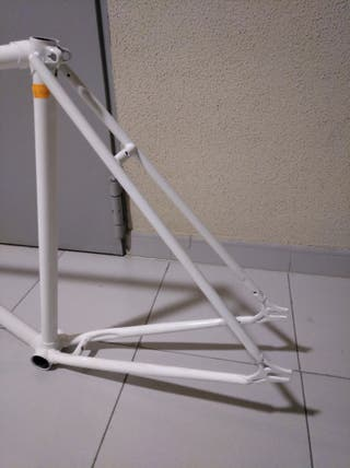 Cuadro bicicleta pista (single, piñon fijo,fixie)