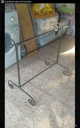 Base de hierro de Forja jardín, toallero, mesa etc