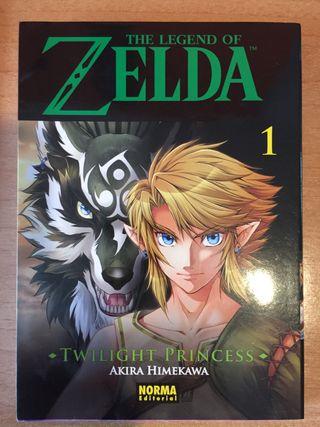 Cómic Zelda Twilight Princess (1)
