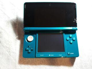 Nintendo 3DS Azul + accesorios +Juegos