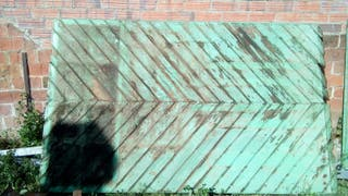 Puerta antigua/ tablero madera