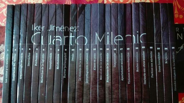 Coleccion Cuarto Milenio 24Libros/DVD+Musica de segunda mano por 50 ...