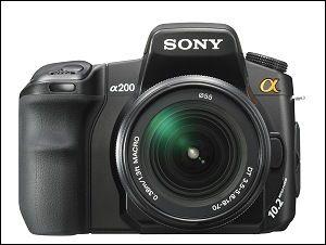 Cámara de fotos Sony a 200 como nueva usada