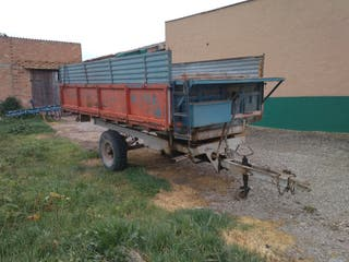 Remolque agricola 5000 kg
