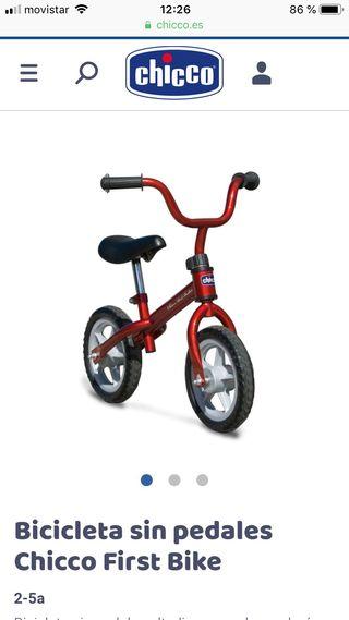 Bici chicco my first bike