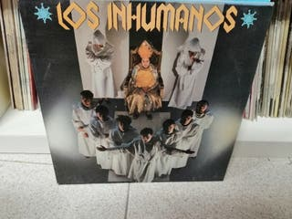 Los Inhumanos Disco vinilo Lp