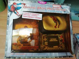 Spiderman game boy accesorio marvel