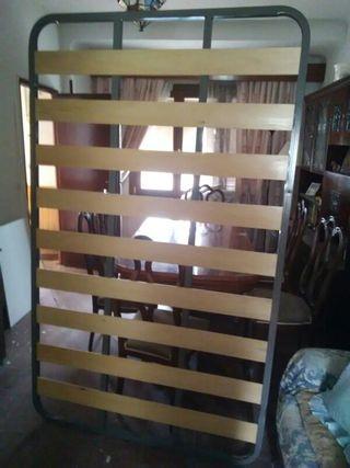 somier de láminas con patas 193 x 120