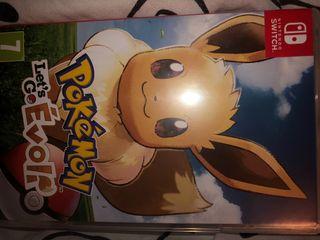 jeu Pokémon let's go evoli switch