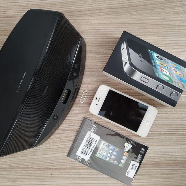Lote Iphone 4 + Altavoz Philips