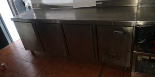 mesa frigorifico de 3 puertas