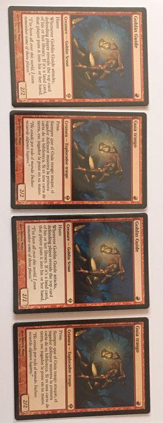 Cartas Magic Goblin guide