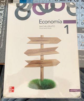 Libro de Economía 1* Bachillerato