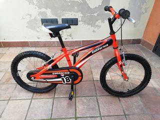 "Bicicleta 18"" BH California"