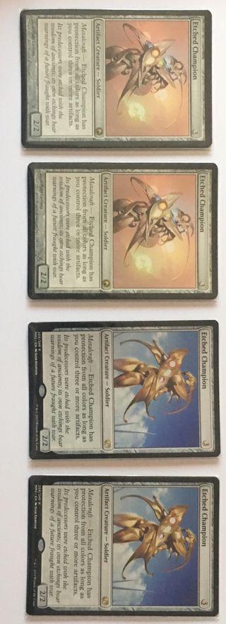 Cartas Magic Etched Champion