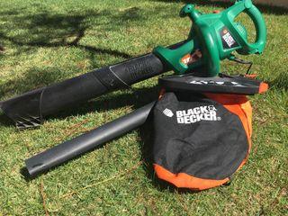 Aspirador soplador de hojas black and dekcer