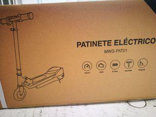 Patinete eléctric precintado