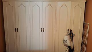 armario madera blanco