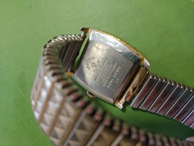 Lote 2 relojes Cauny chapado oro