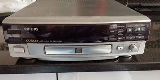 Grabadora audio CD digital Philips