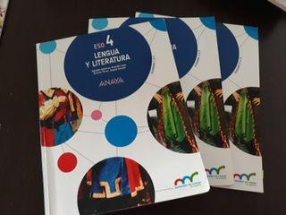 Libros de texto Lengua y literatura castellana