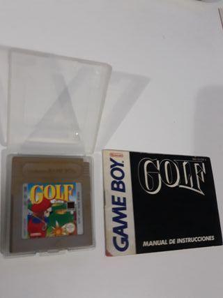 Juego game boy clasico golf