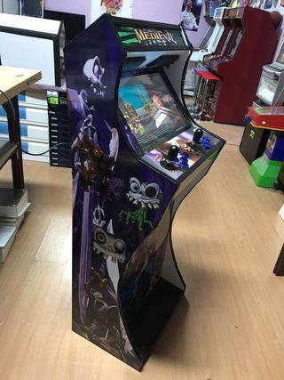 Maquinas recreativas arcade.