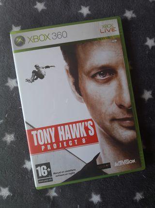 JUEGO TONY WAWKS XBOX360