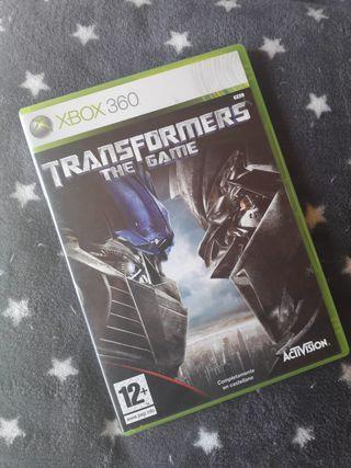 JUEGO TRANSFORMERS XBOX360