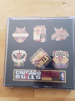 Pins Conmemorativos Chicago Bulls