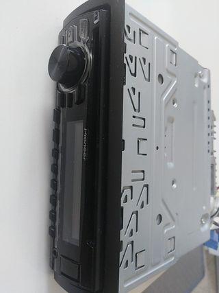 Radio reproductor de CD con receptor RDS coche