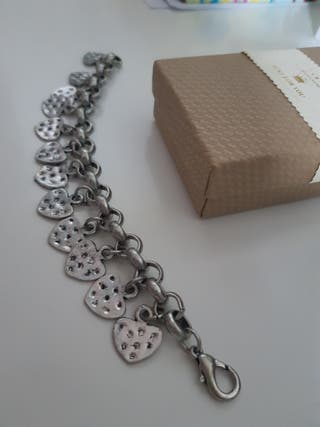 0dd827600243 Pulsera de plata mujer de segunda mano en Bilbao en WALLAPOP