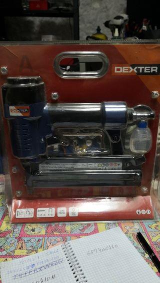 Compresor y pistola neumatica